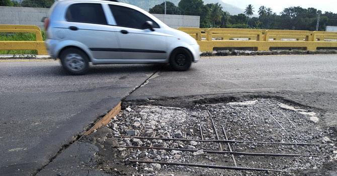 GNB denuncia que mal estado de vías retrasa bloqueo a diputados