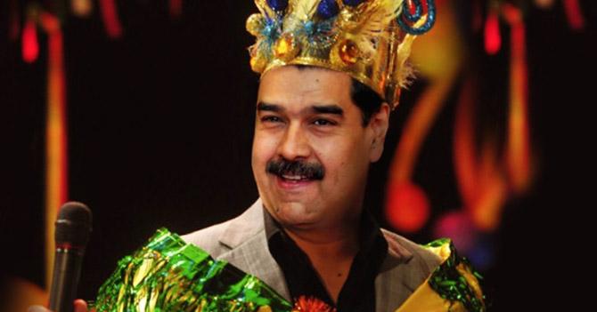 Maduro usurpa funciones del Rey Momo y declara todo el año en carnaval