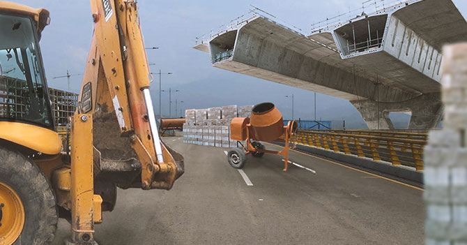 Maduro bloquea puente Las Tienditas con obras inconclusas de Odebrecht