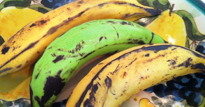 Plátano se mantiene verde para que no le digan coñoetumadre