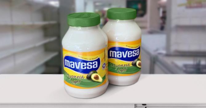 Pote de mayonesa light hecha a base de aguacate se salva de ser saqueado en Maracaibo
