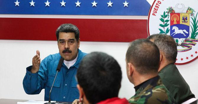 Maduro anuncia racionamiento de existencia