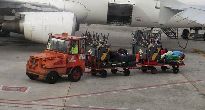 Mahan Air aumenta el límite de peso de equipaje a 100 kg de armas para sus vuelos Teherán - Caracas