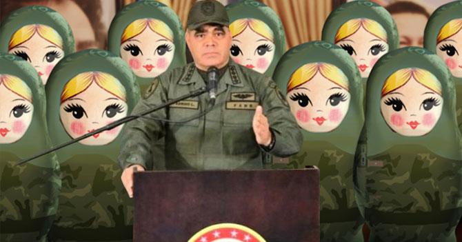 Padrino López asegura que Fuerza Armada no se deja influenciar por militares rusos
