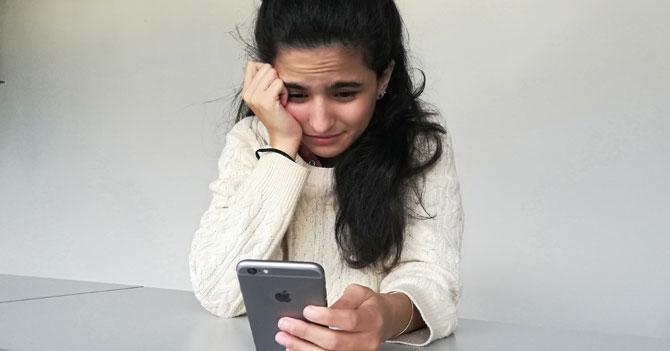 Chama se spoilea final de su relación por revisar el celular de su novio