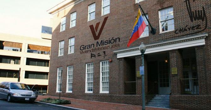 Maduro defiende embajada en Washington convirtiéndola en Misión Vivienda