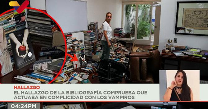 Leopoldo asegura que el SEBIN le sembró libros de Crepúsculo en su casa