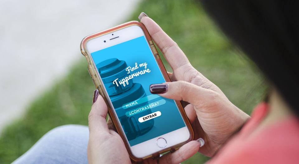 """Mamá emprendedora lanza app """"Find My Tupperware"""""""