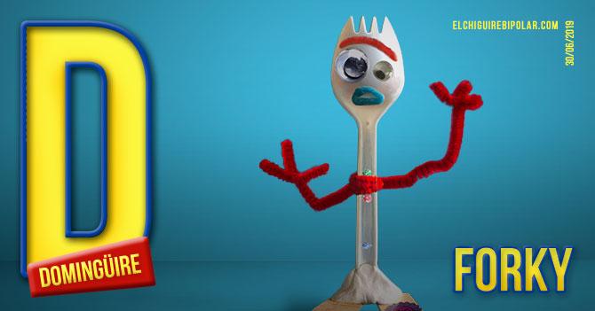 Domingüire No. 285: Forky de Toy Story 4