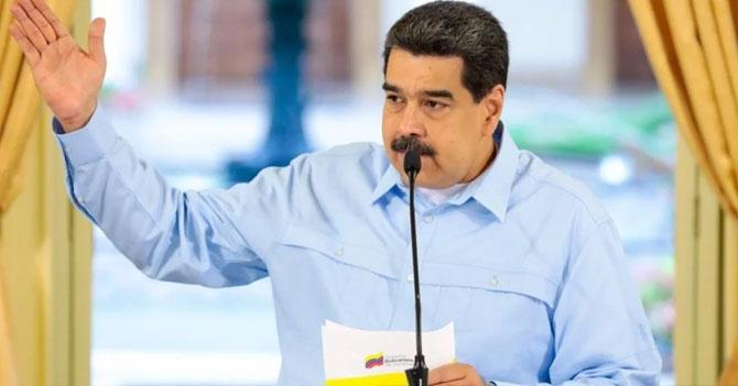 """Maduro: """"Me complace anunciar que Venezuela es territorio 100% libre de venezolanos"""""""