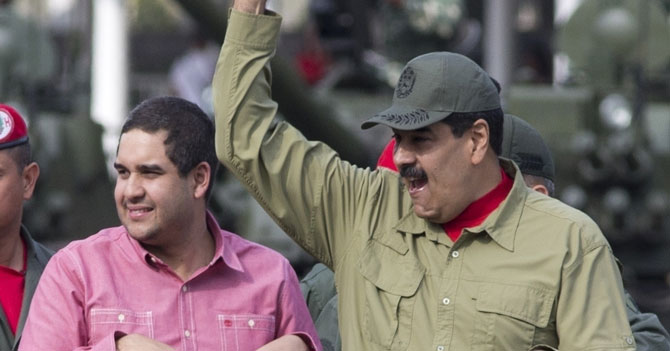 Estados Unidos sanciona al hijo de Maduro recordándole que es hijo de Maduro