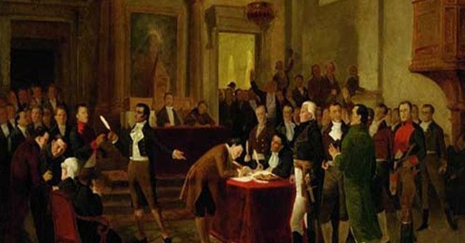 8 cosas que ocurrieron durante la firma del Acta de Independencia