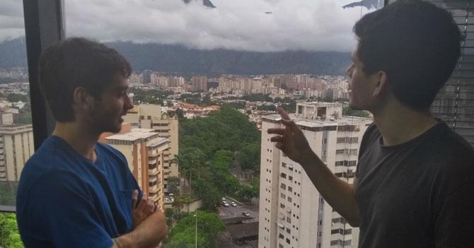 """""""Con este clima, Caracas parece Londres"""", dice chamo que nunca ha ido a Londres"""