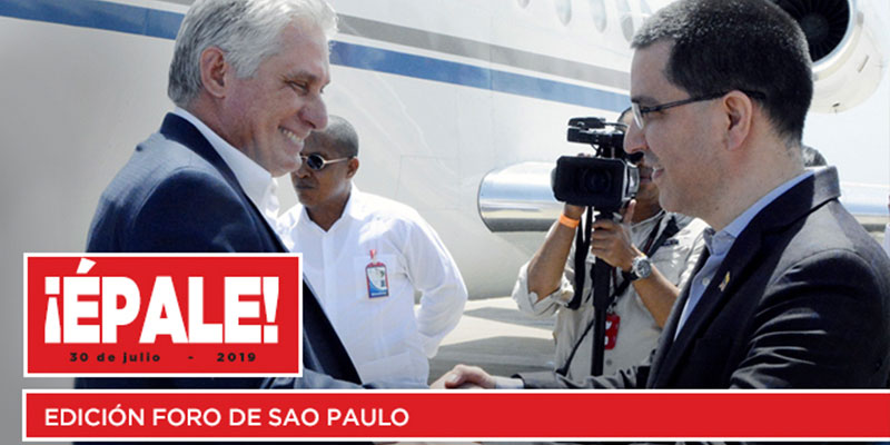Revista ¡Épale!: Edición especial Foro de Sao Paulo