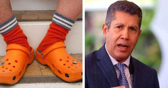 CHIGÜIANÁLISIS: Crocs con medias superan en popularidad a Henri Falcón