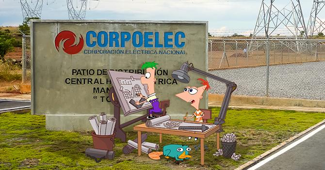Phineas y Ferb arreglan el sistema eléctrico durante sus vacaciones en Venezuela