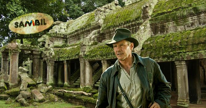 Indiana Jones descubre antiguas ruinas del Sambil