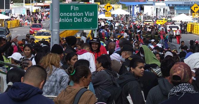 Latinoamérica exige que venezolanos que emigren sean millonarios
