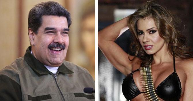 Para provocar a Colombia, Maduro afirma que Esperanza Gómez es venezolana