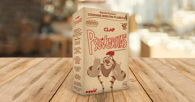 Kellogg's asegura que caja de Psuvcaritas es uso indebido de su marca