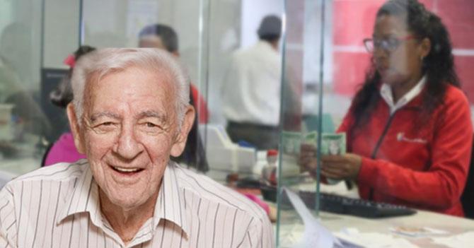 Abuelo con Alzheimer afortunado de olvidar cuánto le pagaron de pensión