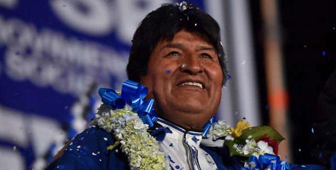Evo Morales gana período democrático 2020 - 2345