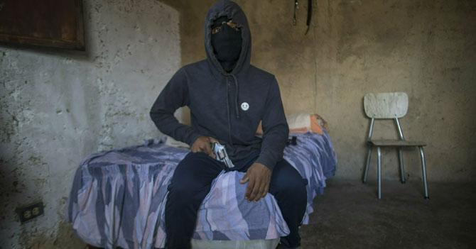 Malandro ansioso por la recuperación de Venezuela para poder robar de nuevo