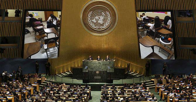 Por deserción escolar ONU declara aulas venezolanas territorio libre de guerras de taquitos