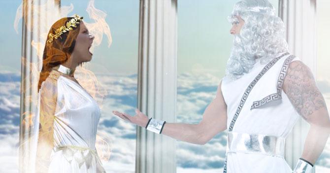 Olga Tañón le pide a Zeus que la deje volver a la Tierra tras escuchar de dolarización en Venezuela