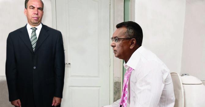 Ministro considera un poco excesivo que embajador cubano deba acompañarlo al baño