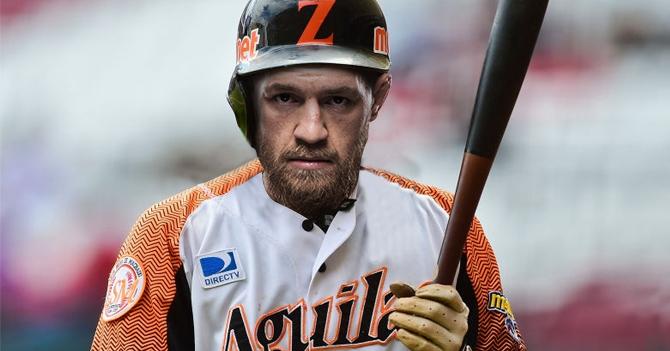 Conor McGregor anunciado como refuerzo de Águilas del Zulia