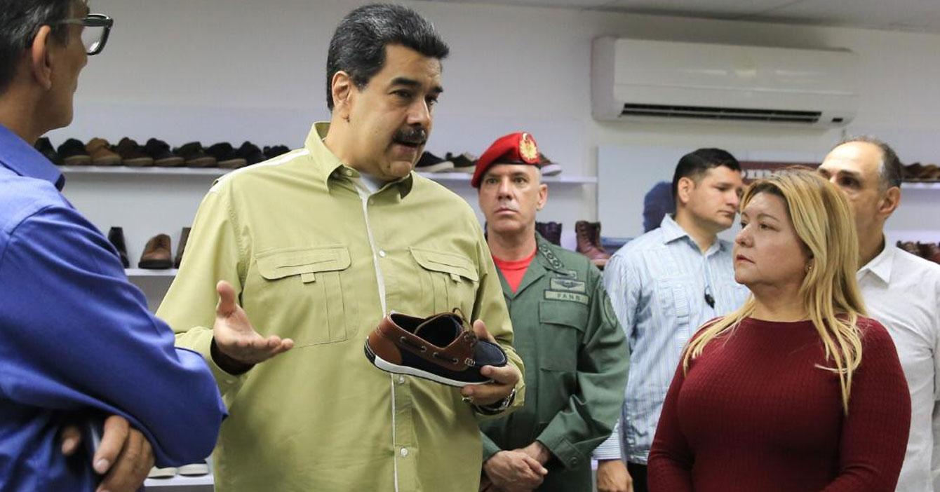 """Maduro: """"Con el Plan S le daremos un sapato a cada niño venezolano"""""""