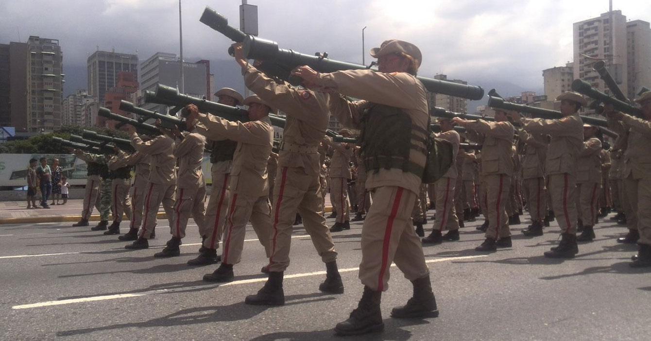 Miliciano incluido en la FANB ansía que le quiten las cataratas para poder reprimir disidentes