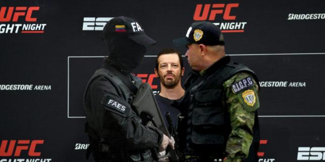 UFC anuncia combate entre CICPC y FAES