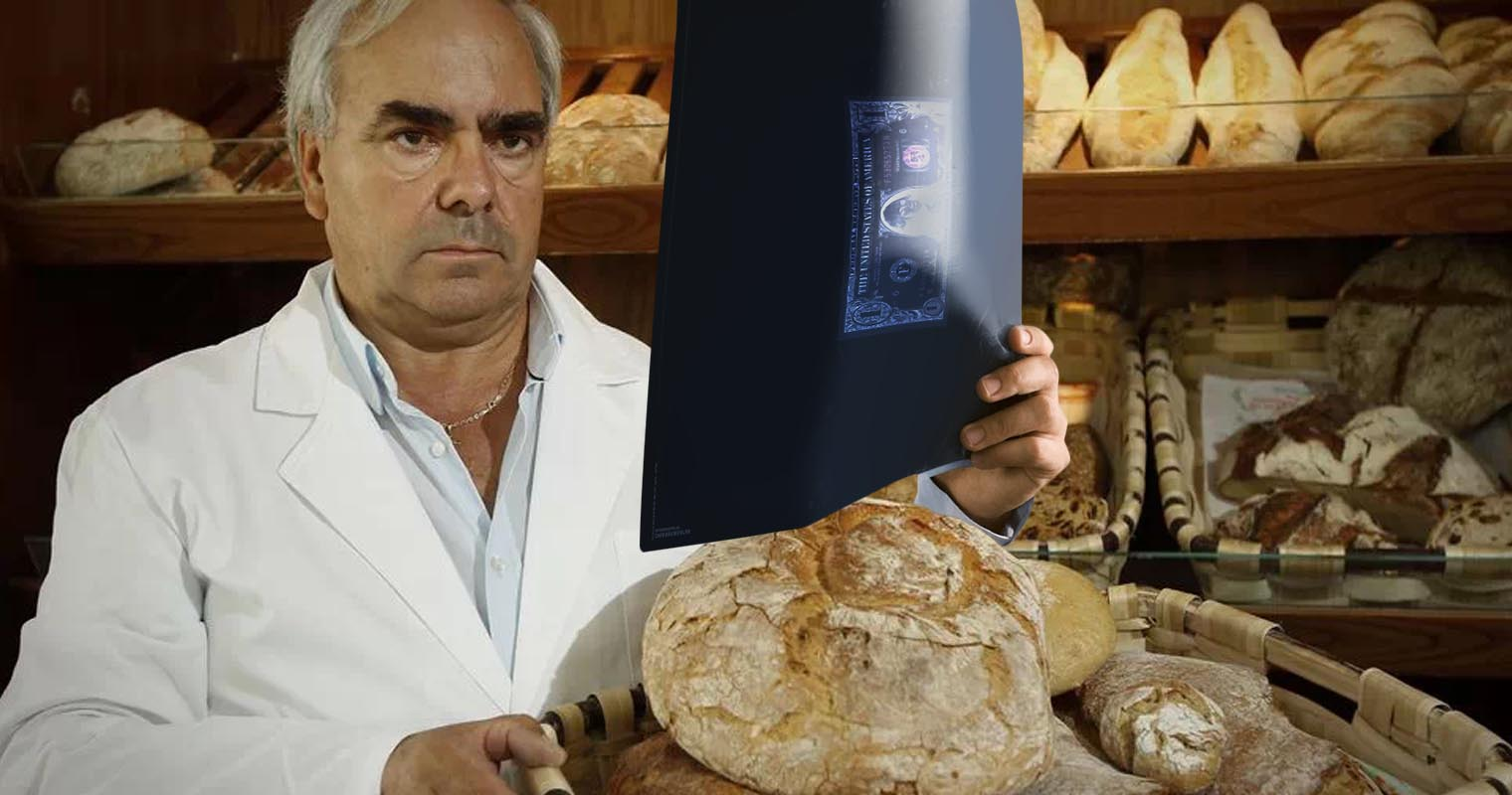 Panadería revisa dólar en efectivo aplicando resonancia magnética