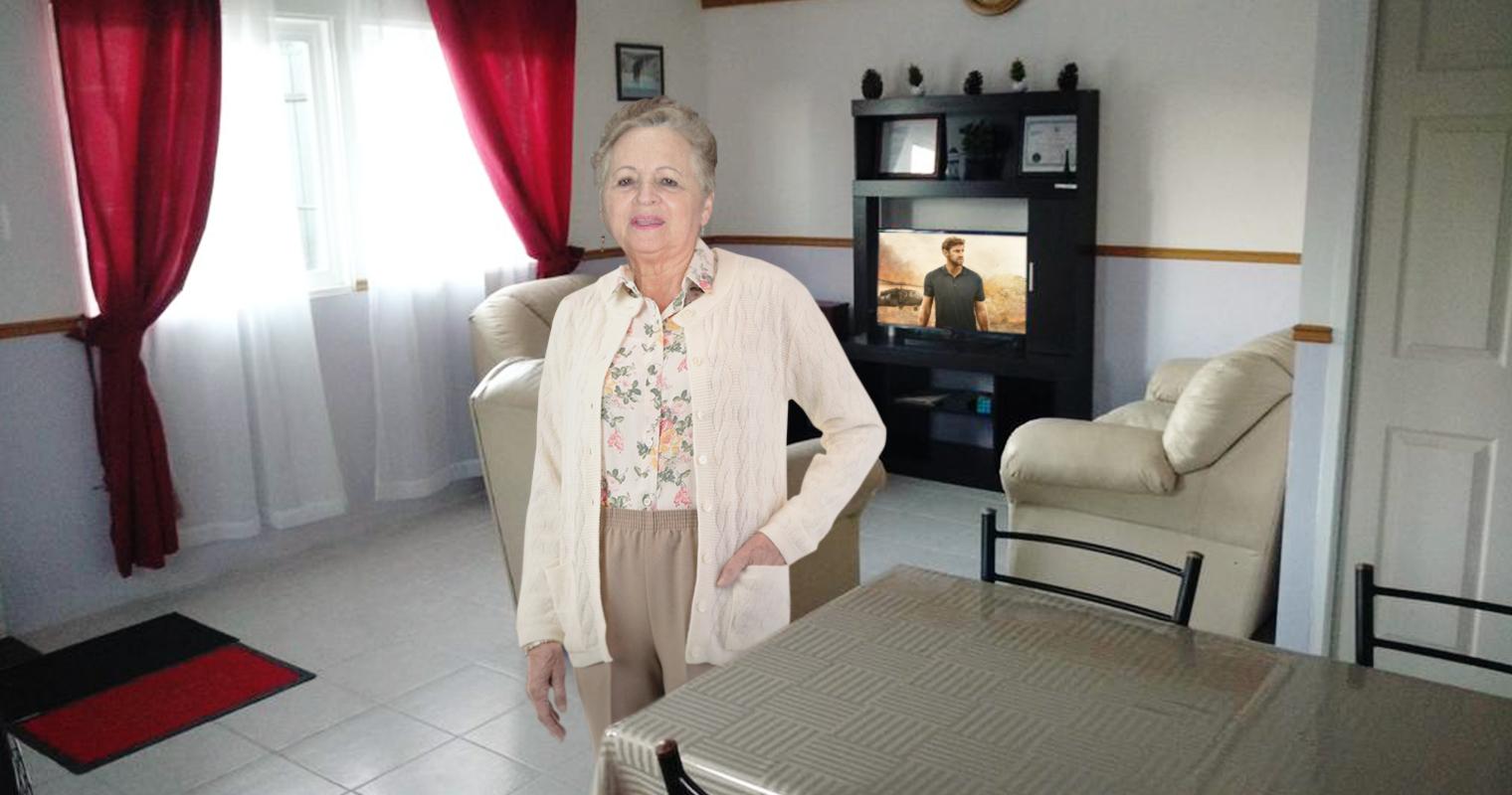 Señora de El Cafetal le pide a Guaidó que si no regresa junto a Jack Ryan mejor ni vuelva