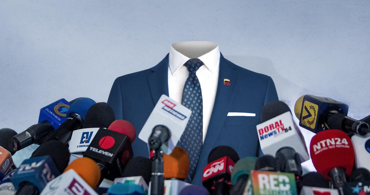 Traje azul de Guaidó responsabiliza al gobierno de cualquier cosa que pueda pasarle