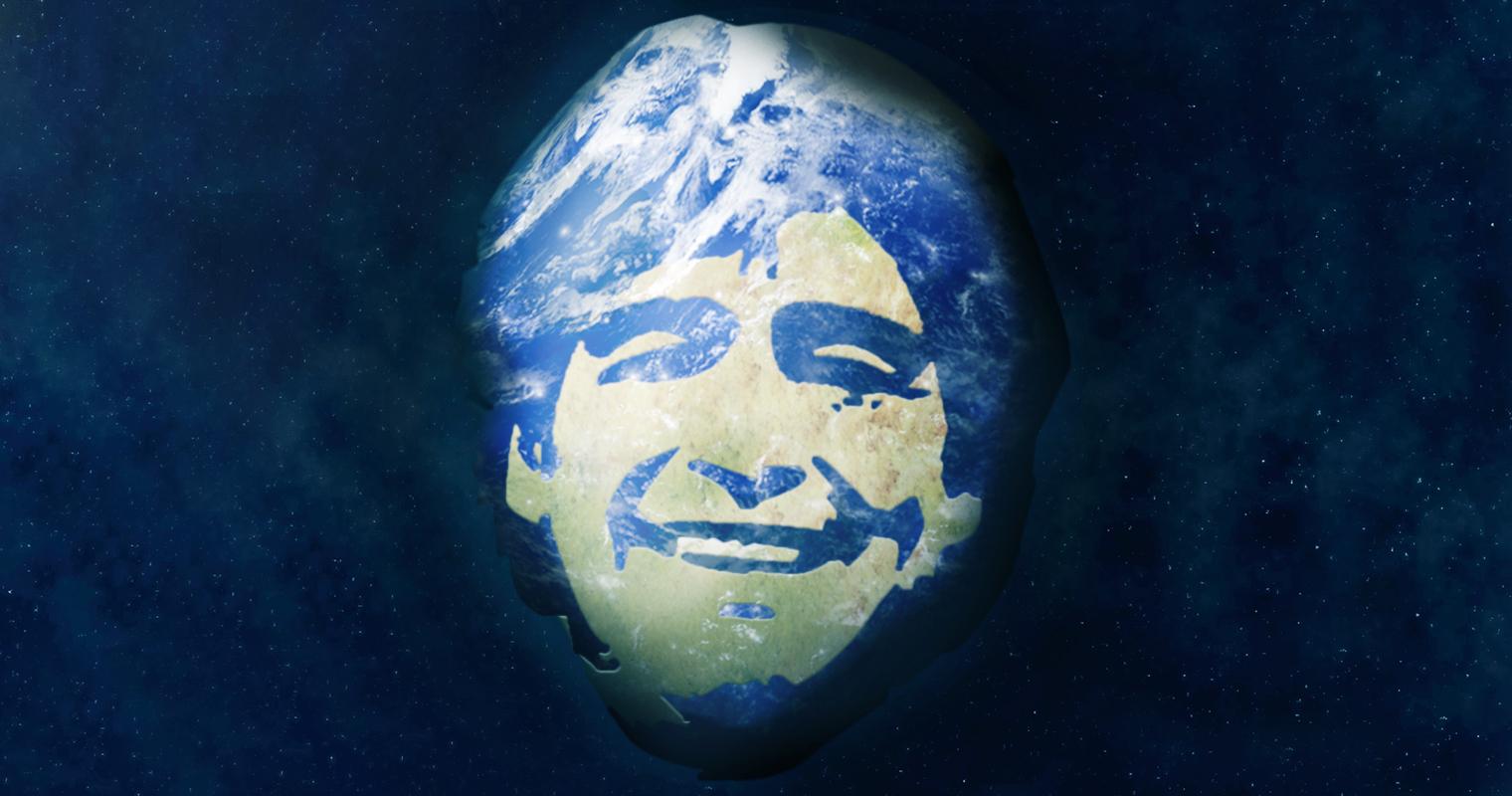 Agencia Espacial Argentina confirma que la tierra tiene forma de Maradona