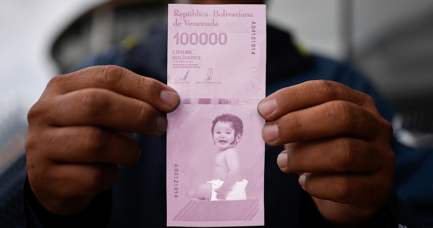 BCV lanza billete de Bolívar bebé para que dure más en circulación