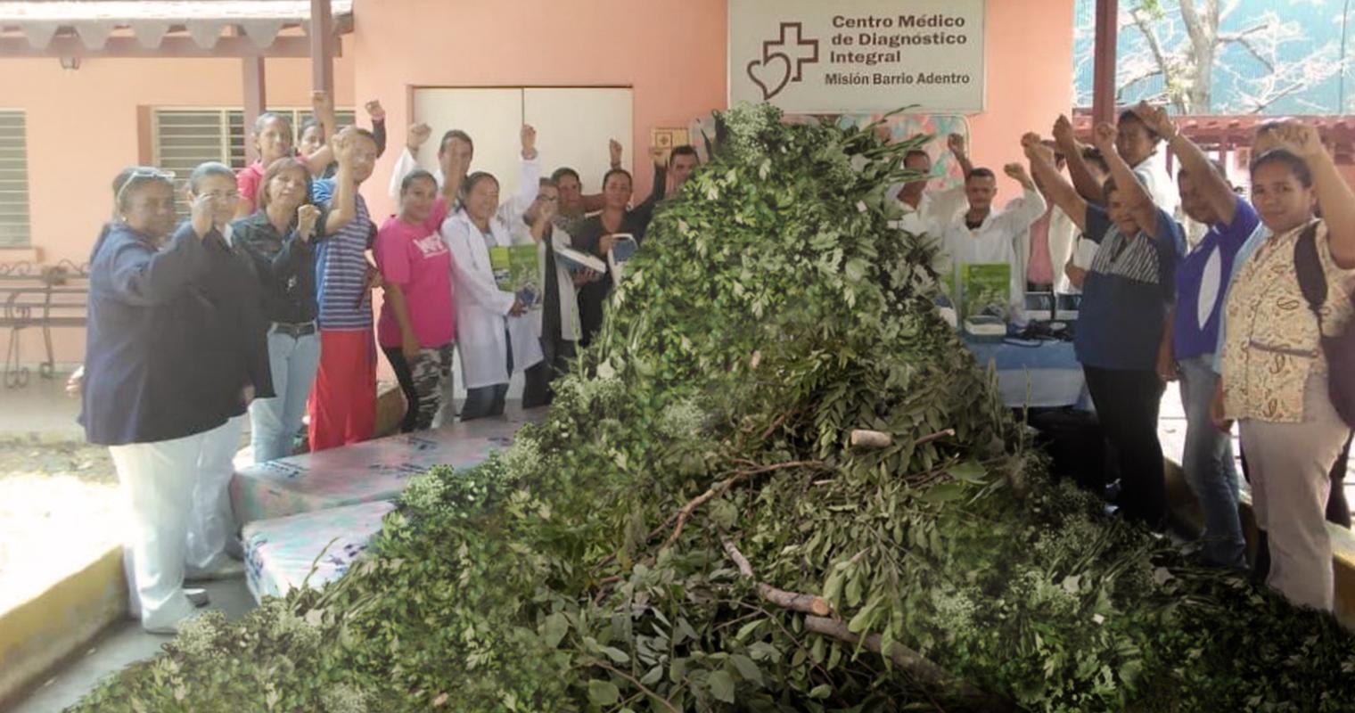 CDI se preparan para el coronavirus importando dos toneladas de ramas
