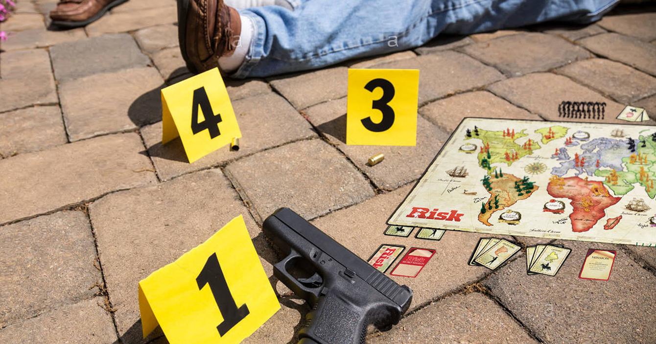 Juego de Risk para amenizar la cuarentena termina en asesinato de un primo