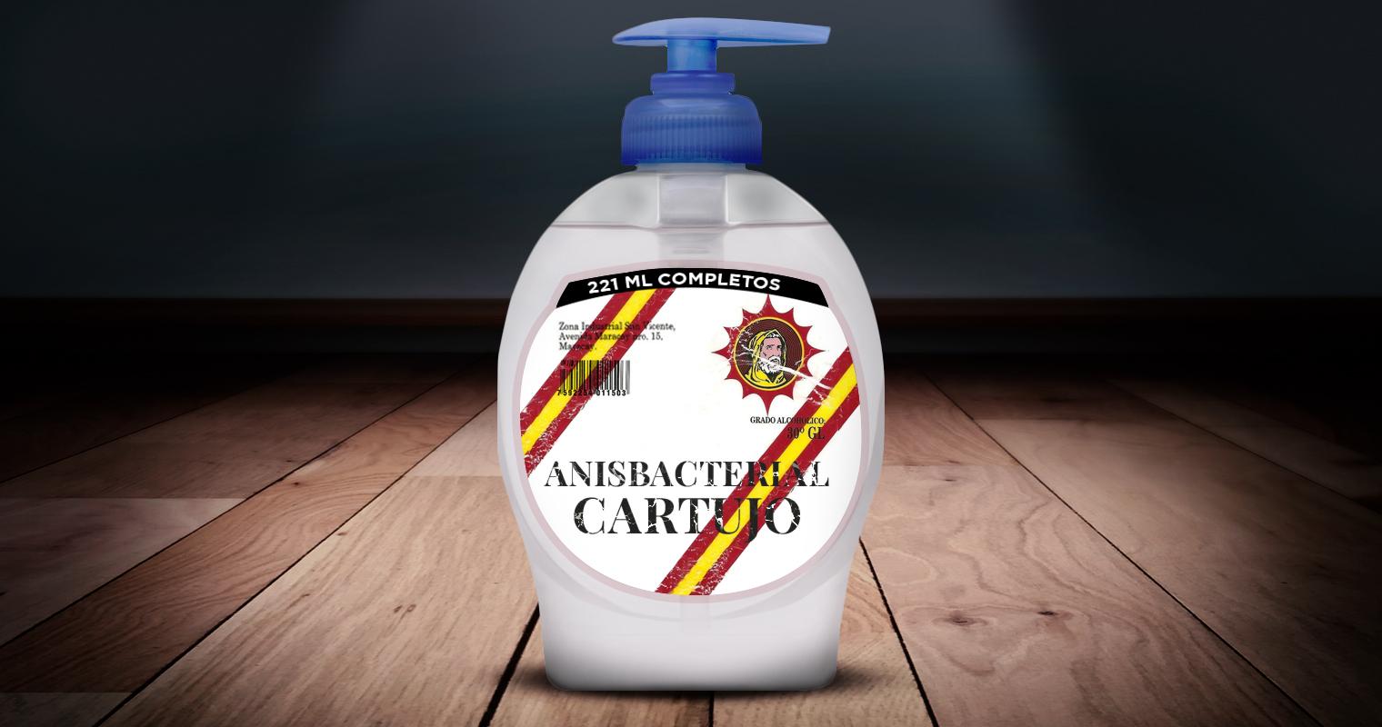 Anís Cartujo lanza línea de antibacterial