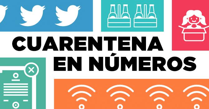INFOGRAFÍA: Cuarentena en números