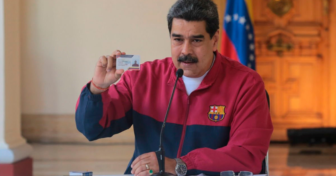 """Maduro: """"destrucción de la economía sigue al 100% a pesar del coronavirus"""""""