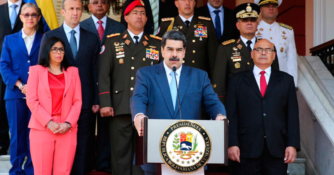 Maduro suspende manifestaciones en su contra por coronavirus