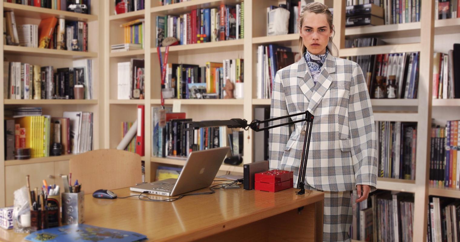 Carolina Herrera presenta pijama formal para home office