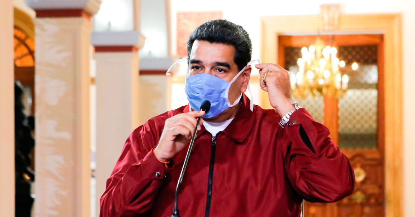Maduro reitera llamado a cada quién a resguardarse en su mansión