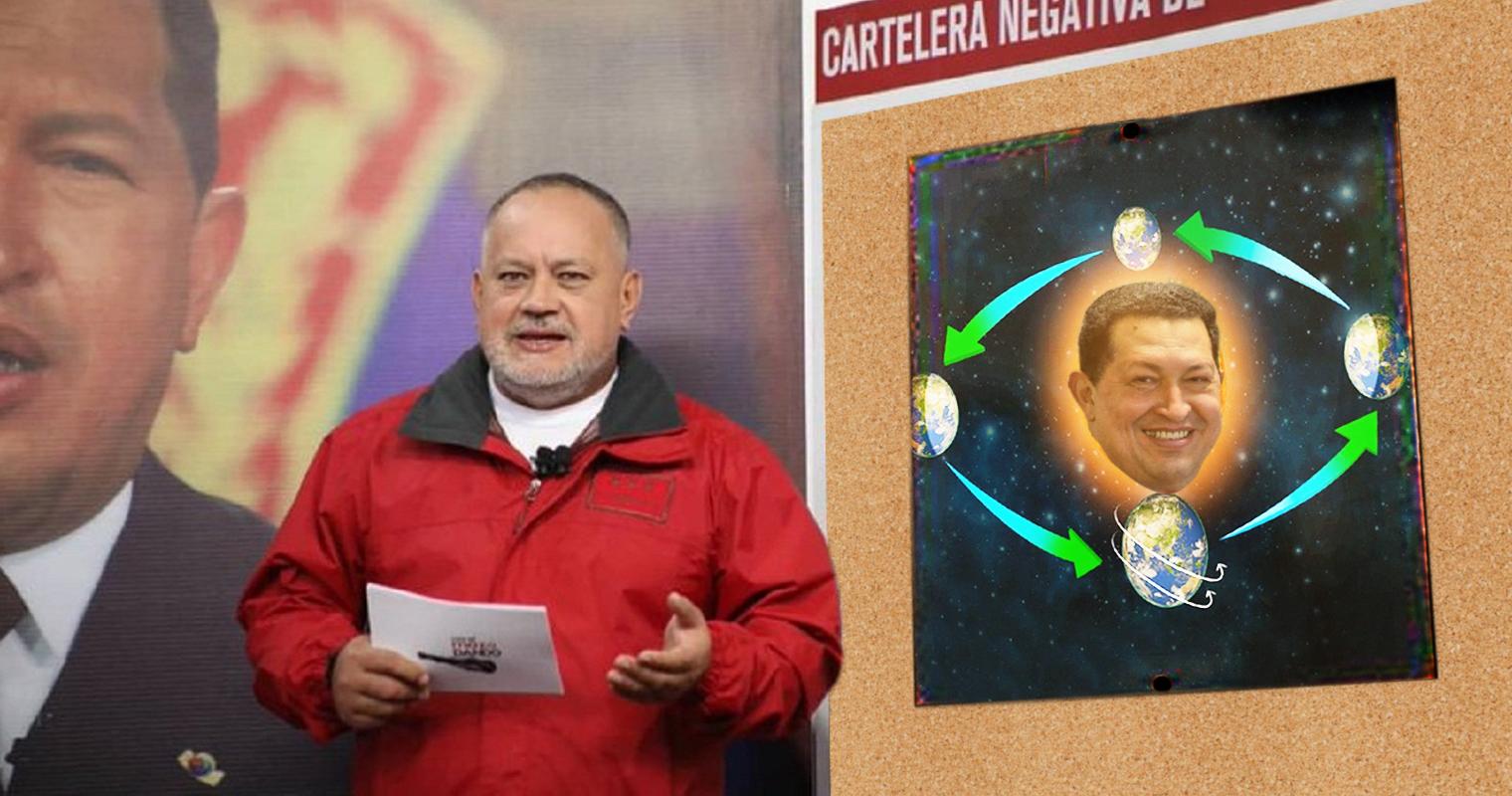Diosdado amenaza a Galileo por negar que la Tierra gira alrededor de Chávez