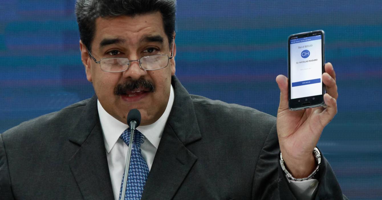 Maduro dicta correo de Zelle para pagos de gasolina: nicomaduro69@hotmail.com