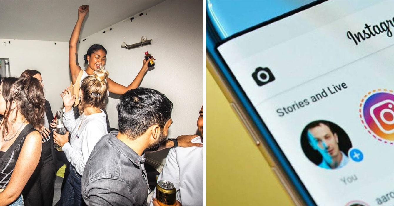 Joven que tiene una semana sin subir un story a Instagram tiene una semana saliendo de fiesta